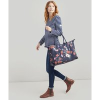 NAVY FLORAL Kembry canvas Holdall  Size One Size