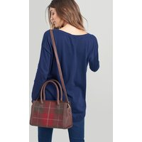 RED CHECK Turnley tweed Grab bag  Size One Size