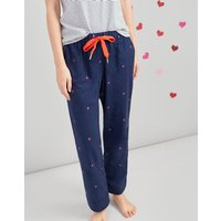 NAVY LADY BIRD Snooze Woven Pyjama Bottoms  Size 14