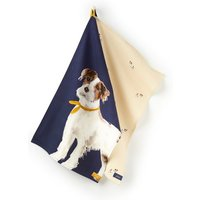 Navy Mutli Dog Kitchen Tea Towel 2 Pack  Size One Size