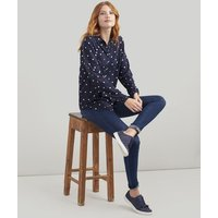 NAVY SPOT LADYBIRDS Elvina Long Sleeve Soft Shirt  Size 10