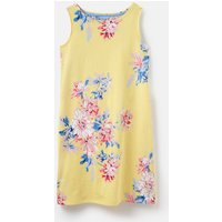 Lemon Whitstable Floral 204554 Sleeveless Printed Jersey Dress  Size 10