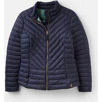 Marine Navy 204513 Chevron Quilted Jacket  Size 10