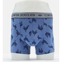 Light Blue Cockrels Crown Joules Single Pack Underwear  Size Xxl