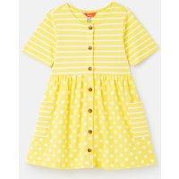 215718 Button through Smock Dress 1-12 years