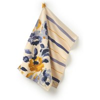 White Multi Ocean Floral Tea Towels Two Pack  Size One Size