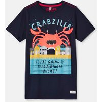 BLUE CRABZILLA 204639 Screenprint Tee  Size 6yr