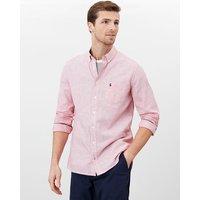 Warwick Long Sleeve Classic Fit Printed Shirt