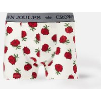 Cream Rose Crown Joules Single Pack Underwear  Size M