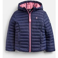 French Navy Kinnaird Padded Packable Coat 1-12 Years  Size 4Yr