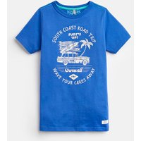 DAZZLING BLUE 204639 Screenprint Tee  Size 6yr
