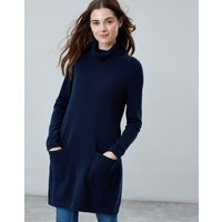 FRENCH NAVY Ansley Roll Neck Tunic  Size 6