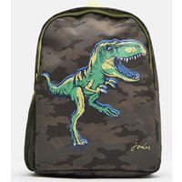 GREEN CAMO DINO Patchback Printed Backpack  Size One Size