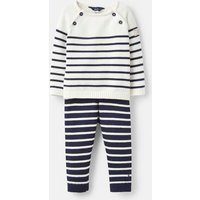 George Knitted Top and Trousers Set