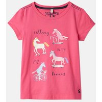 Trpony 207118 Short Sleeve Graphic Tee  Size 4Yr