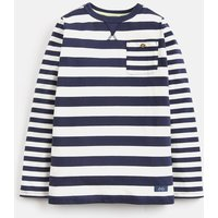 CREAM NAVY STRIPE Buckley Striped T-Shirt 3-12 Yr  Size 5yr