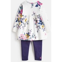 Anniversary Floral Christina Dress And Leggings Set  Size 3M-6M