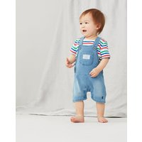 Duncan Denim Dungaree Set 0-24 Months