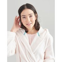 Rita Stripe Fluffy Dressing Gown