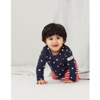 Harbour Print Organically Grown Cotton Top 0-24 Months