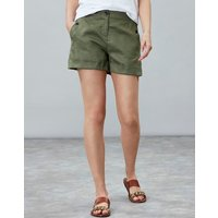 Dusty Olive Lydia Linen Short  Size 16