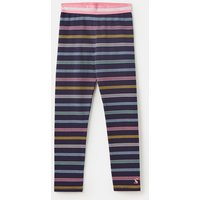 Navy Multi Stripe Glitzy Luxe Shine Waistband Legging 1-12 Years  Size 9Yr-10Yr
