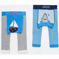 MULTI BOAT SHARK Lively Character Leggings Two Pack  Size 0m-6m