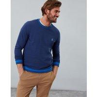 Buckingham Blue Penworth Lightweight Crew Neck Sweatshirt  Size L