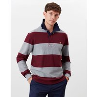 Textured Onside Stripe Rugby Shirt