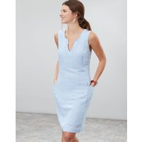 Blue Stripe Elayna Shift Dress  Size 8