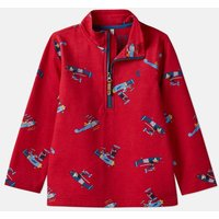 Red Planes Dale Printed Overhead Sweat 1-6 Years  Size 1Yr