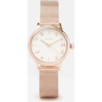 Rose Gold Farnley Rose Gold Womens Metal Strap Watch  Size One Size