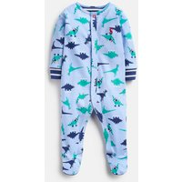 Blue Dino 207284 Printed Babygrow  Size 0M-3M