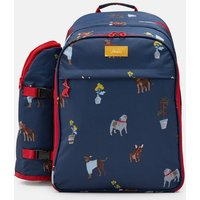 BLUE DOGS Picnic rucksack Printed and Fully Insulated for Four People  Size One Size
