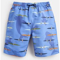 Blue Kayakers Ocean Swim Shorts 1-12 Yr  Size 5Yr
