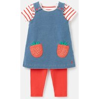 209245 Pinafore Dress 0-24 Months