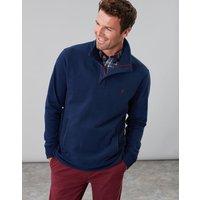 Navy Deckside Half Zip Sweatshirt  Size M
