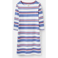 204529 3/4 Sleeve Riviera Striped Dress