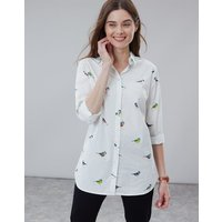 White Birds Lucie Woven Shirt  Size 18