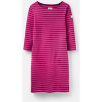 Fuchsia Stripe 206926 Stripe Jersey Dress  Size 16