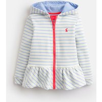 CREAM SKY BLUE STRIPE Brianna Novelty Ear Sweatshirt 1-6yr  Size 4yr