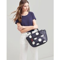 NAVY SPOT Day to day print Pu Everyday Bag  Size One Size