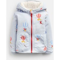 Blue Balloons James Reversible Jacket  Size 6M-9M
