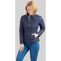 Marine Navy Elodie Quilted Jacket  Size 6
