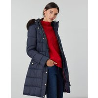 Hartwell Longline Padded Coat With Detachable Hood