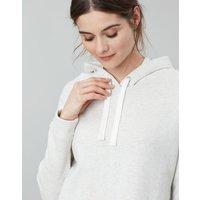 Grey Marl Rennie Cover Stitch Hoodie  Size 14