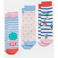 BLUE PLANT Brilliant bamboo Socks Three Pack  Size Size 9-12