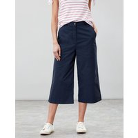 FRENCH NAVY Compton Wide Leg Cropped Chinos  Size 6