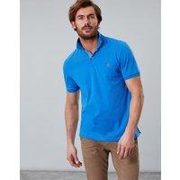 Mid Blue Jersey Polo Plain  Size L