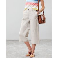 Compton Wide Leg Cropped Chinos